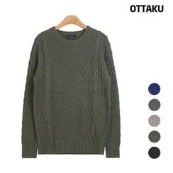 Seoul Homme - Round-Neck Sweater