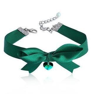 Linglady - Ribbon Rhinestone Bracelet