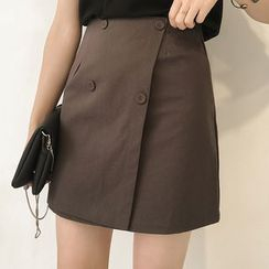 Little V - Wrap A-line Skirt