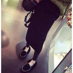 QZ Lady - Slit Back Midi Skirt
