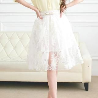 Tokyo Fashion - Organza Midi Skirt