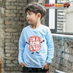 BILLY JEAN - Boys Raglan-Sleeve Graphic T-Shirt