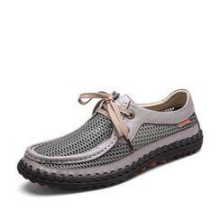 NOVO - Mesh Trim Boat Shoes