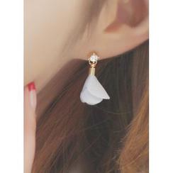 kitsch island - Fabric Drop Earrings