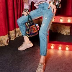 ELF SACK - Washed Jeans