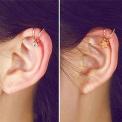 Taimi - Single Clip-On Earrings