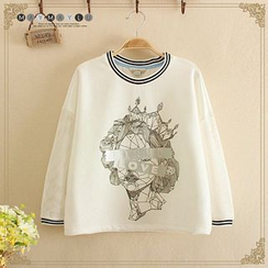 Maymaylu Dreams - Long-Sleeve Print T-Shirt