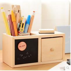 Class 302 - 木製筆盒 / 桌面收納盒