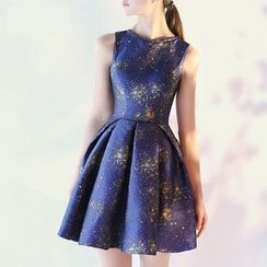 Royal Style - Sleeveless A-Line Cocktail Dress