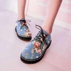 Pangmama - Floral Sneakers