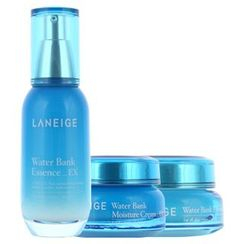 Laneige - Water Bank Moistful Set : Essence EX 60ml + Moisture Cream EX 50ml + Eye Gel 25ml
