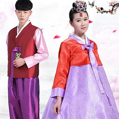Komomo - Couple Matching Traditional Korean Hanbok