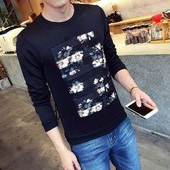 Edway - Floral Print Sweatshirt