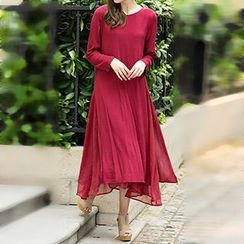 Rebecca - Long-Sleeve Maxi Dress