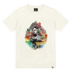 the shirts - Floral Woman Print T-Shirt