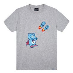 the shirts - Super Punch Print T-Shirt