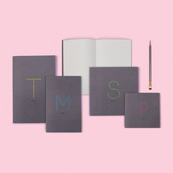 LIFE STORY - Set of 4: Lettering Notebook (M)