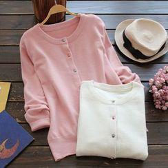 YOYO - Cotton Blend Cardigan