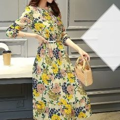 Romantica - Floral Chiffon Dress