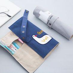 Show Home - 卡通帆布筆保護套