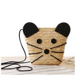 Sunset Hours - Mouse Straw Crossbody