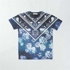 THE COVER - Short-Sleeve Print T-Shirt