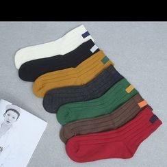 Sonne - Rib Knit Socks