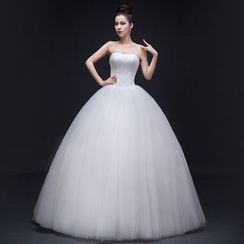 Gracia - Strapless Ball Gown Wedding Dress