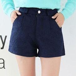 Isadora - Textured Shorts
