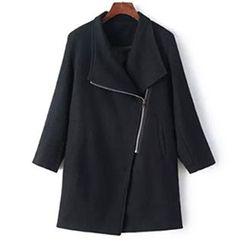 CBRL - Asymmetric Zip Coat