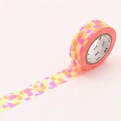 mt - mt Masking Tape : mt 8P Circle Triangle Pink (8 Pieces)