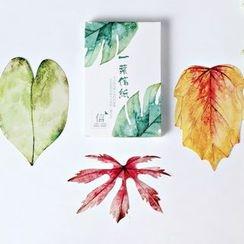 Paper Plane - 樹葉明信片套裝 (30 張)