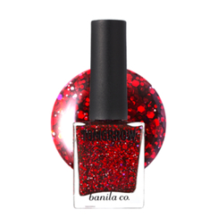 banila co. - Tomorrow Nail Glitter Red 01