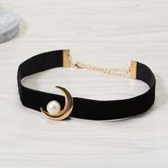 Seirios - 飾珠月亮項鏈