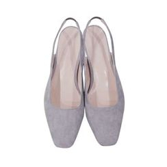 maybe-baby - Faux-Suede Sling-Back Pumps