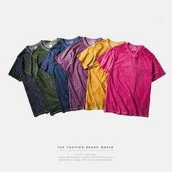 Newin - 短袖純色T恤