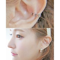 Miss21 Korea - Heart Ear Cuff (Single)