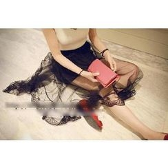 Bloombloom - Lace Maxi Skirt
