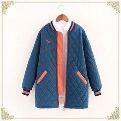 Fairyland - Zip Quilted Coat