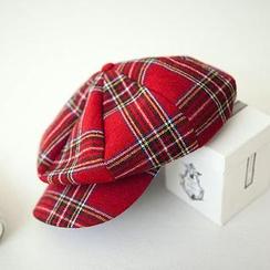 chuu - Plaid-Check Hat