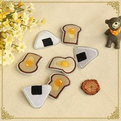 Fairyland - Toast / Onigiri Brooch