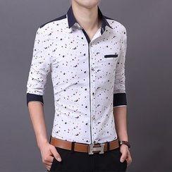 JIBOVILLE - Print Panel Shirt