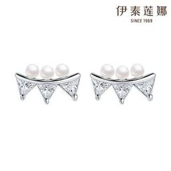 Italina - Faux-Pearl Earrings