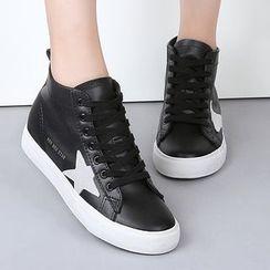 Renben - Star High-top Sneakers