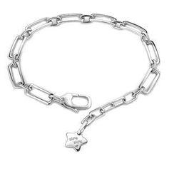 Bling Bling Bling Bling 925 Silver Star Bracelet
