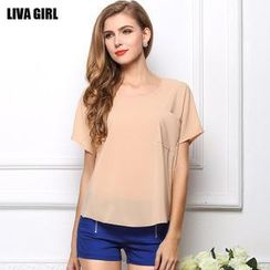 LIVA GIRL - Short-Sleeve Top
