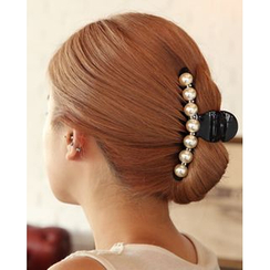 Miss21 Korea - Faux Pearl Hair Clamp