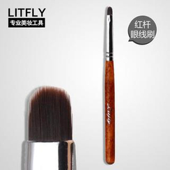 Litfly - Ultra Fine Eye Liner Brush (Red)