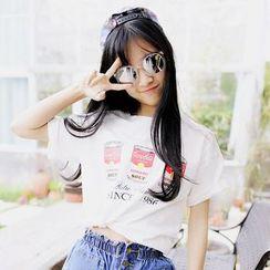 Polaris - 印花短袖T恤