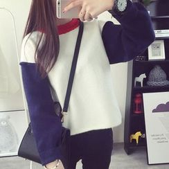 FR - Color Block Sweater